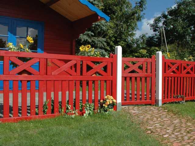 Zäune und Tore aus Holz - Garten- und Landschaftsbauer Herrsching ...